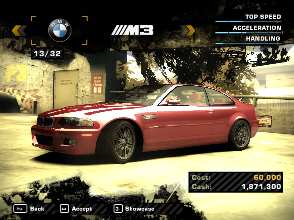 Need For Speed Most Wanted Downloads Addons Mods Cars Bmw M3 2003 Set Nfsaddons