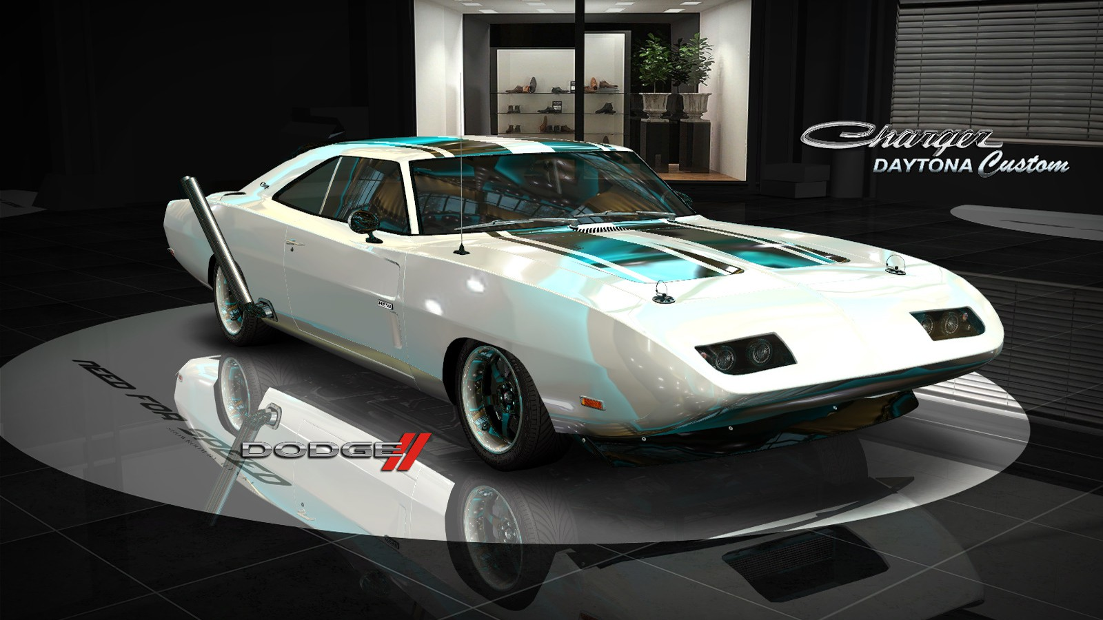 Need For Speed Most Wanted Downloads Addons Mods Cars Dodge Charger Daytona Custom 1969 Nfsaddons