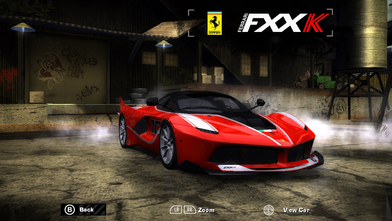 Need For Speed Most Wanted Downloads Addons Mods Cars Ferrari Fxx K Addon Nfsaddons
