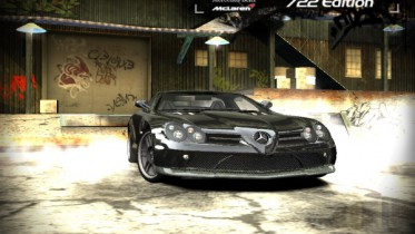Mercedes Benz SLR Mclaren 722 Edition