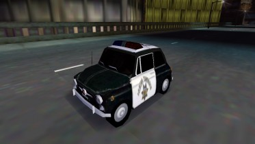Fiat Nuova 500 USA Police (sleeper version)