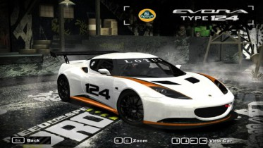 2010 Lotus Evora Type 124 Endurance