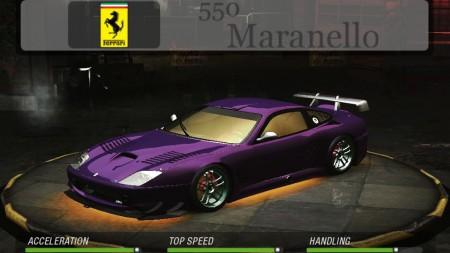Need For Speed Underground 2 Downloads Addons Mods Cars Ferrari 2003 Ferrari 550 Maranello Nfsaddons