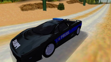 Pursuit Jaguar XJ220