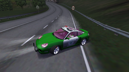 Porsche 911 996 Turbo German cop (NFS 6)