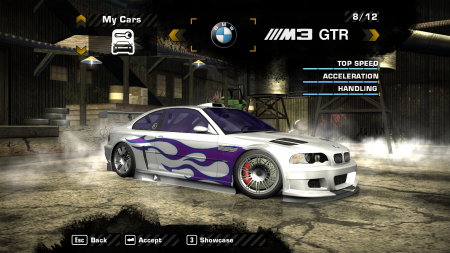 BMW M3 GTR Race Version