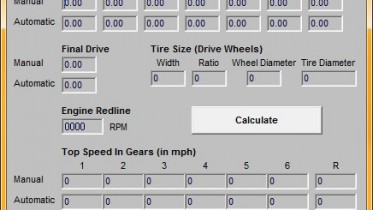 NFSHS Velocity To RPM Calculator