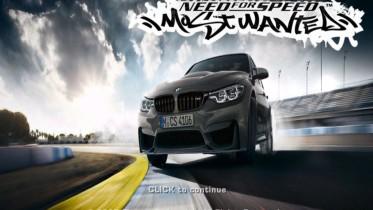 BMW M3 CS Boot Screen