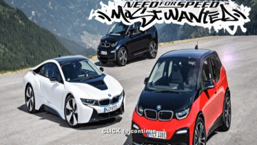 BMW i3's and i8 Boot Screen
