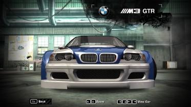 BMW M3 GTR Grill Texture
