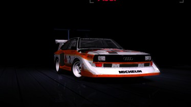 My Tune For Audi S1 Quattro Gr.B