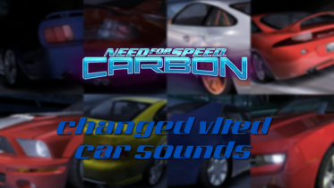 Changed VLTEd Presets For Car Sounds