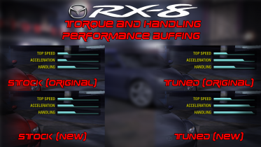 Mazda RX-8 Torque and Handling Performance Buff