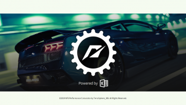 NFS Performance Calculator  - v0.9.04 / Build 23 (for MW/Carbon/World)