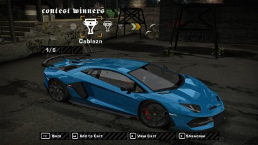 Lamborghini Aventador SVJ Official Colours
