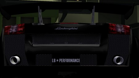 LibertyWalk Performance License Plate