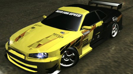 Classic NFS Decals for NFSU2