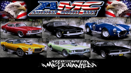 NFSMW Muscle Cars Edition