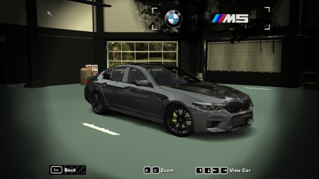 Improved Performance of 2018 BMW M5