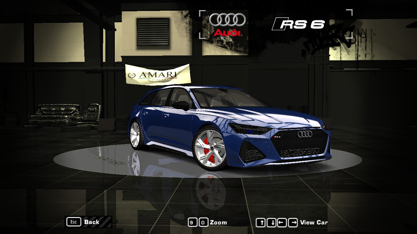 Need For Speed Most Wanted: Car Showroom - RV Design's ...