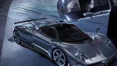 need for speed carbon: car showroom - toyotawish's pagani zonda f