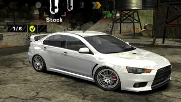 Mitsubishi Lancer Evolution X R.J.K Drift