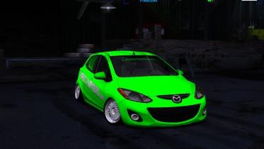 Mazda 2 HellaFlush