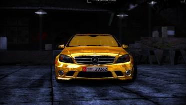 Mercedes-Benz C63 AMG Dubai Golden