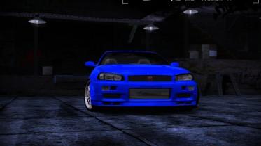 Nissan Skyline GT-R R34 Fast&Furious4