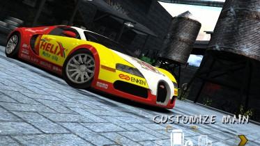 Bugatti Veyron 16.4 Shell Helix Livery