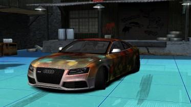 Audi RS5 Christmas Livery