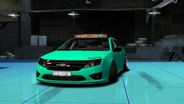 Ford Fusion HellaFlush [2010]