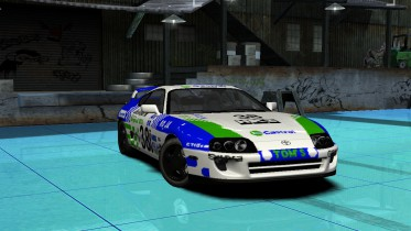 Toyota Supra Castrol Racing Livery