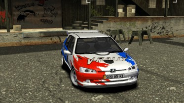 Peugeot 106 GTi [V-RALLY]