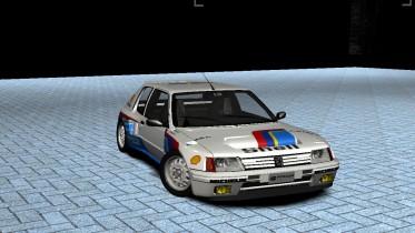 Peugeot 205 T16 Evo I Group B