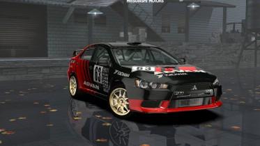 Mitsubishi Lancer Evolution X Rallycross