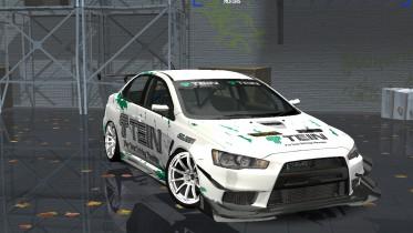 Mitsubishi Lancer Evolution X TEIN