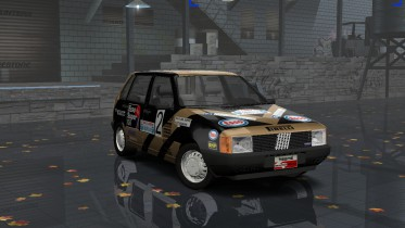 Fiat Uno Turbo IE Group A Grifone Rally