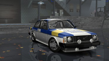 Volvo 242 Turbo Ex-Works Rally
