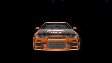 Nissan Skyline GT-R R34 Eastsiders