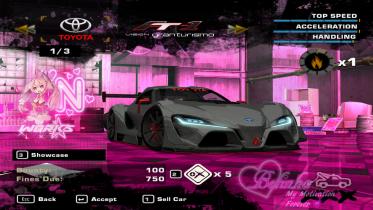 2014 Toyota FT-1 Vision Gran Turismo