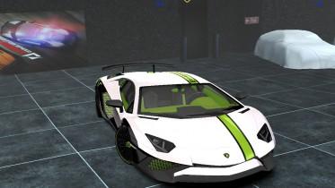 Lamborghini Aventador SV Lp750-4 Mutant Panda