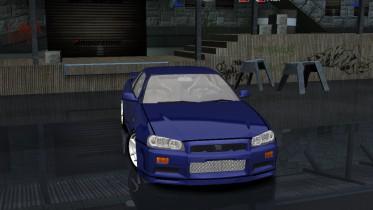 Nissan Skyline GT-R R34 M-Spec