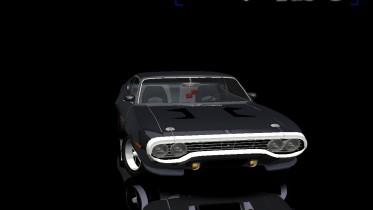 Plymouth RoadRunner 440 6 Pack
