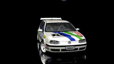 Volkswagen Golf Mk.IV Kit Rally Car