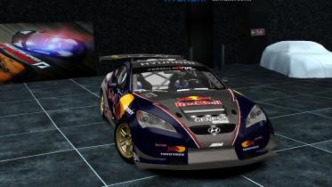 Hyundai RMR Red Bull Genesis Coupe 2009