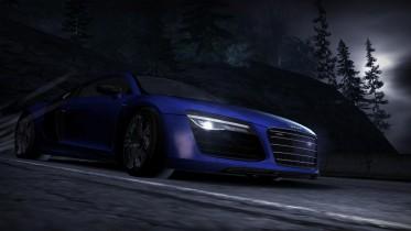 Audi R8 V10 Plus in Blue