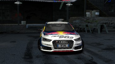 Audi S1 Mattias Ekstrom RedBull