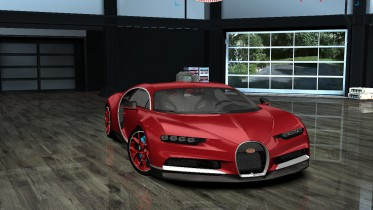 Bugatti Chiron CSR2 Red Edition
