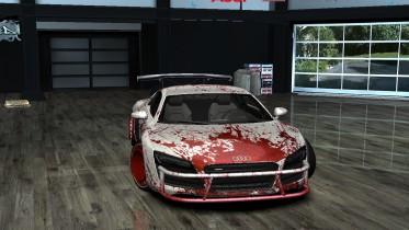 Audi R8 Blood Stark Design